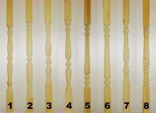 Столб начальный из дуба сорт Экстра 100*100*1200 мм