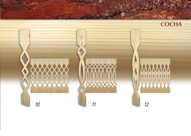 Лестницы на бoльцах - l-o-dru